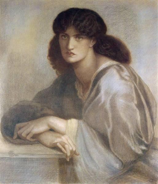 La Donna Della Finestra 1880 coloured chalks